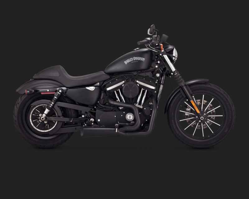 Vance & Hines Competition Series In Black Performance