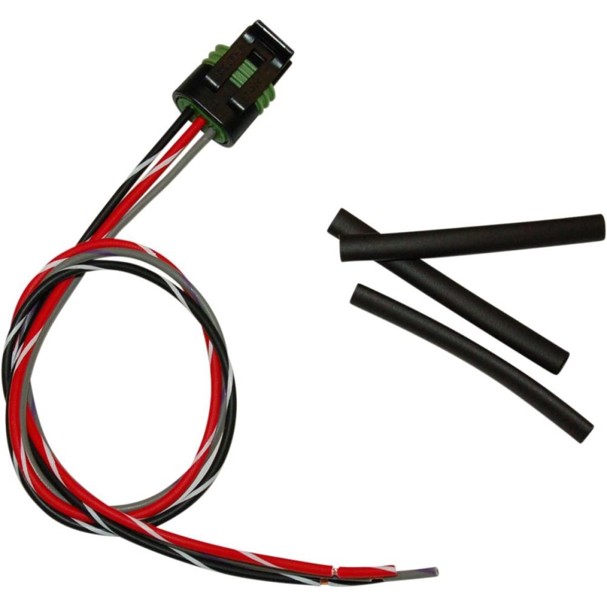 Throttle Position Sensor Harley Davidson: Namz Delphi PigTail Connector 2-Position Plug For Throttle