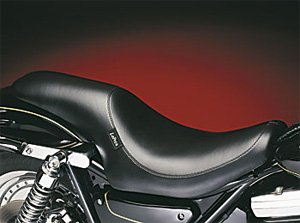 Le Pera Silhouette Foam Seat With Smooth Cover in Black Finish For 1982-1994 FXR Models (L-868)