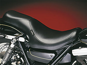 Le Pera Silhouette 2 Up Foam Seat With Smooth Cover For 1982-1994 FXR Models (L-848)