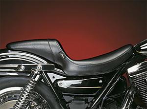 Le Pera Daytona Sport Foam Smooth Seat With Smooth Cover For 1982-1994 FXR Models (L-541S)