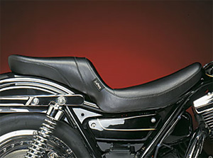 Le Pera Daytona 2-Up Foam Smooth Seat With Smooth Cover For 1982-1994 FXR Models (L-547S)