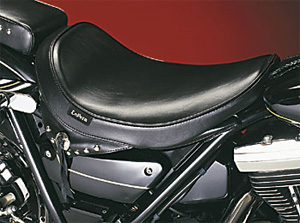 Le Pera Sanora Foam Solo Seat With Smooth Cover For 1982-1994 FXR Models (L-023)