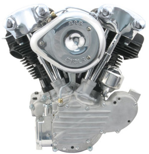 S&S Cycles KN93 Complete Assembled Engine (106-2161)