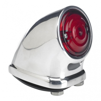 Biltwell Mako Tail Light In Chrome Finish (7705-303)