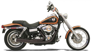 Bassani Road Rage 2 Into 1 Short System In Black For Harley Davidson 2006-2017 Dyna Models (13122J)