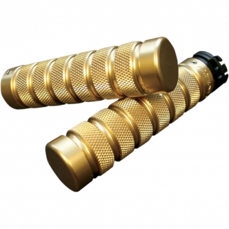 """1/"""" UNIVERSAL MOTORCYCLE SPIKE HAND GRIPS HANDLEBAR GRIP FOR DUAL THROTTLE CABLE"""