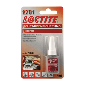 Loctite 2701-171-268 Red (High Strength) Fluid - 24ML (ARM900685)