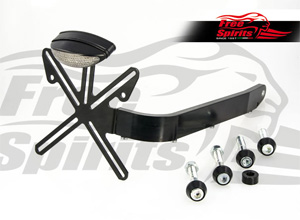 Free Spirits License Plate Bracket Kit For Harley Davidson Sportster Motorcycles (208917)