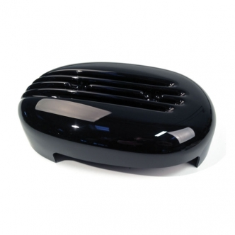 Cult Werk Fin Air Cleaner Cover In Gloss Black Finish For Harley Davidson Sportster 2004-2020 (HD-SPO025)