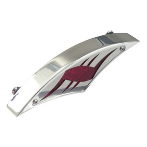 CPV Tribalmoon Taillight In Chrome (ARM010379)