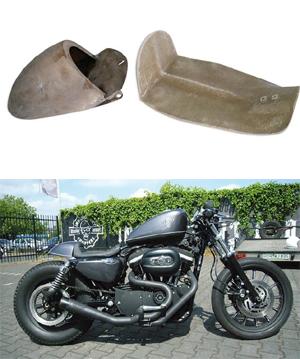Custom Seats for Harley Davidson Sportster XL Motorycles