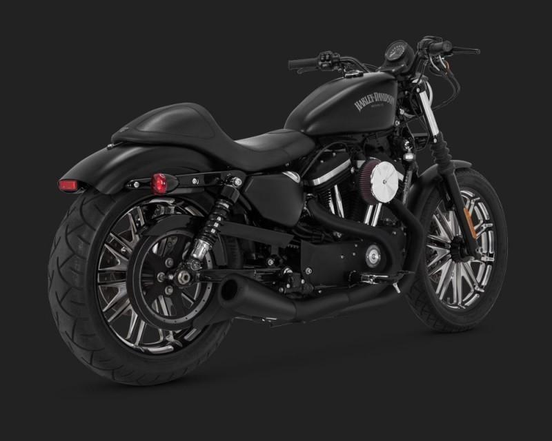 Harley Davidson Iron  Exhaust Vance And Hines
