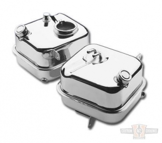 Custom Chrome Replacement Oil Tank For 4-Speed FL and FX Big Twin Models 65-E82 (78305)