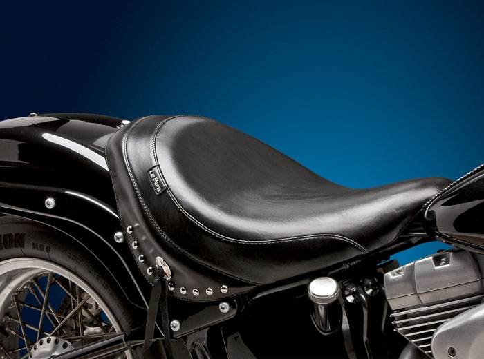 Le Pera Sanora Solo With Skirt Seat For Harley Davidson 1984