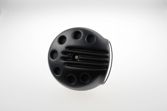 Cult Werk Air Filter Cover Slotted in Gloss Black For 2013-2017 Softail FXSB Breakout Models (HD-BRO005)