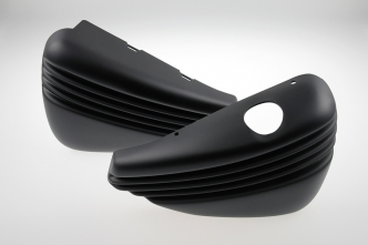 Cult Werk Bobber Style Side Covers In a Paintable Finish For 2004-2013 Sportster (HD-SPO105)