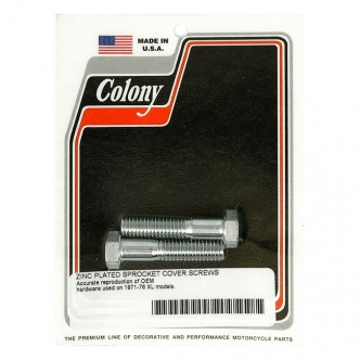 Colony Sprocket CVR Mount Kit, OEM Style in Zinc Finish For 1971-1976 XL Models (ARM517929)