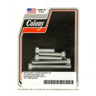 Colony Sprocket CVR Mount Kit, OEM Style in Zinc Finish For 1977-1980 XL Models (ARM617929)