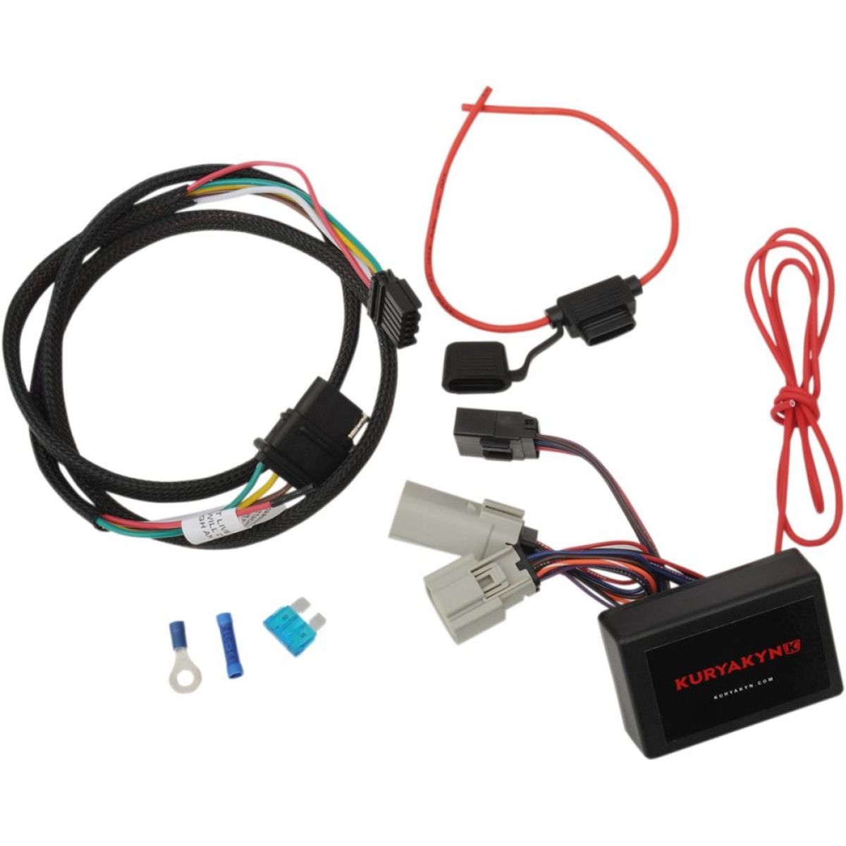 Kuryakyn Trailer Wiring Harness And Relay 5 Wire For 2014-2018 Trike ...