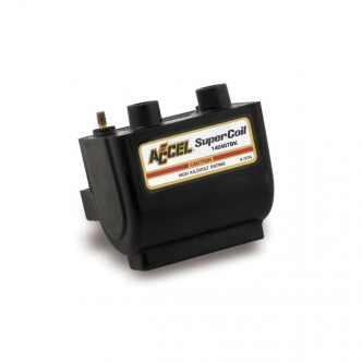 Accel Hei Super Coil V Ohm Electronic Ignition In Black Finish Arm Small