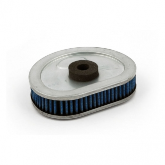 Doss Blue Lightning Air Filter Element With 4 Layers Of Ribbed Pre-Oiled Cotton Filtering Media, Maximum Air Flow For 1992-1999 B.T. (Excluding Inj. & TC) Models (ARM550065)