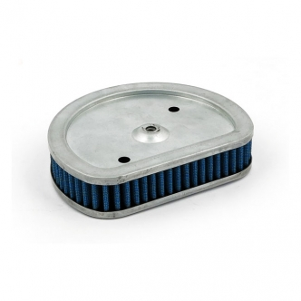 Doss Blue Lightning Air Filter Element With 4 Layers Of Ribbed Pre-Oiled Cotton Filtering Media, Maximum Air Flow For 1995-1998 B.T. Injection Models Only (ARM450065)
