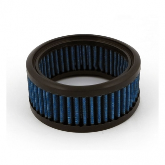Doss Blue Lightning Air Filter Element With 4 Layers Of Ribbed Pre-Oiled Cotton Filtering Media, Maximum Air Flow For S&S Super E/G Models (ARM260065)