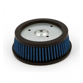 Doss Blue Lightning Screamin' Eagle Air Filter Replacement Element For 2000-2015 Softail, 1999-2007 Dyna, Touring, 2007-2020 XL Sportster and All RSD Venturi Air Cleaner Kits  (ARM560065)