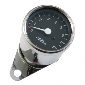 Doss Mini Tachometer 2:1 Ratio H-D With 2:1 Mechanical Tachometer Drive For 1954-1980 XL, K, 1961-1969 FL (With Mechanical Tach Drive) Models (ARM575205)