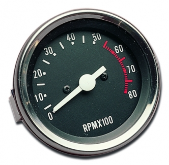 Custom Chrome Electronic Tachometer For 1973-1984 FX Models (26720)