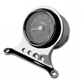 Custom Chrome Deluxe Mini Tachometer Kit For 1973-2003 BT-XL Models (310304)