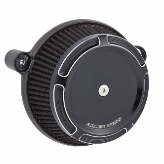 Arlen Ness Beveled Stage 1 Big Sucker Air Cleaner Kit In Black For Harley Davidson 2017-2020 Touring & 2018-2020 Softail Models (18-309)
