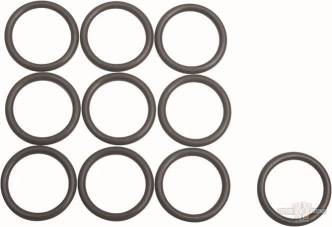 James Gasket Oil Pressure Check Valve O-Ring, Twin Cooled Only For 2018-2020 Softail, 2017-2020 Touring Models (Pack of 10) (JGI-11900010)