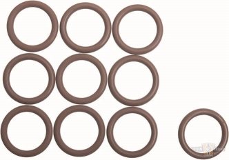 Cometic Oil Return/Transmission Plug O-Ring For 2018-2020 Softail, 2017-2020 Touring Models (Pack of 10) (C10212) (OEM 11900092)