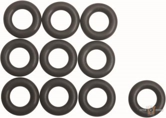 Cometic Black Injector O-Ring For 2018-2020 Softail, 2017-2020 Touring Models (Pack of 10) (C10205) (OEM91800058B)