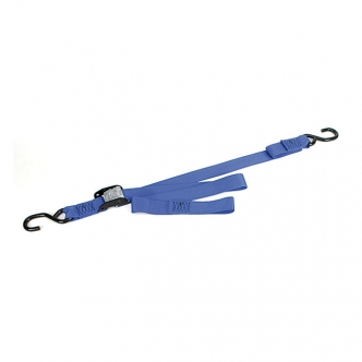 Ancra Standard Big Bike Cam Buckle Straps (Without Integrated Soft-Hooks) In Blue (ARM205235)