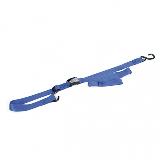 Ancra Integra Soft-Tie Big Bike Cam Buckle Straps (With Integrated Soft-Hooks) In Blue (ARM505235)