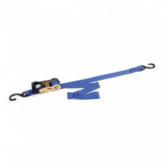 Ancra Standard Big Bike Gradual Release Tie-Downs (Without Integrated Soft-Hooks) In Blue (ARM705235)