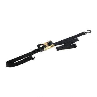 Ancra Integra Soft-Tie Big Bike Gradual Release Tie-Downs (With Integrated Soft-Hooks) In Black (ARM705235)
