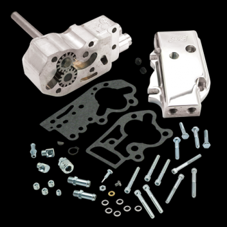 S&S Billet Oil Pump Kit For 1936-69 HD Big Twins (Without Gears & Shims) (31-6200)