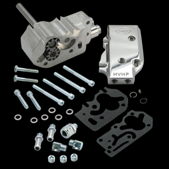S&S High Volume High Pressure Billet Oil Pump Only Kit For 1984-91 HD Big Twins (31-6214)