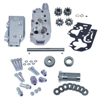 S&S High Volume High Pressure Oil Pump Kit With Gears For 1984-91 HD Big Twins (31-6307)