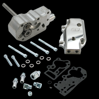 S&S High Volume High Pressure Oil Pump Kit With Gears For 1992-99 HD Big Twins - Universal (31-6302)