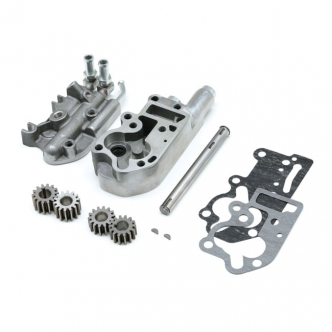 Doss Polished Oil Pump Kit For 73-91 Big Twins (ARM900009)