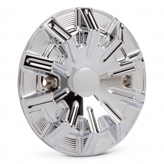 Arlen Ness 10-Gauge Stator Cover In Chrome Finish For 2015-2018 Indian Scout Models (I-1171)