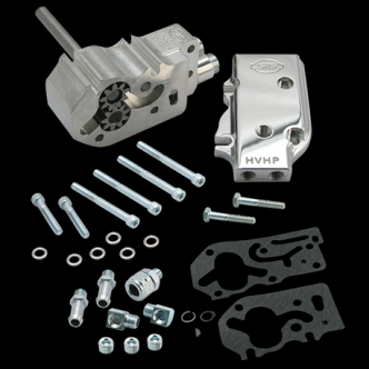 S&S High Volume High Pressure Oil Pump Only Kit For 1992-99 HD Big Twins - Universal (31-6208)