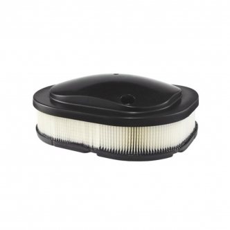 Drag Specialties Reusable Premium Air Filter in Black Finish For 2014-2019 Indian Chief Classic/Vintage/Chieftain/Roadmaster Models (E14-0999)