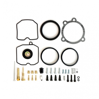 All Balls Racing Street Carburetor Rebuild Kit For 1988-2003 Sportster Models (ARM074765)
