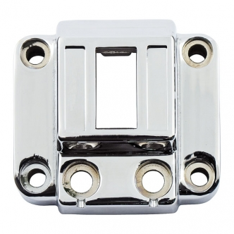 DOSS H/B Switch Housing, Vertical in Chrome Finish For 1973-1981 XL, 1972-1981 FL, 1973-1981 FX Models (ARM055205)